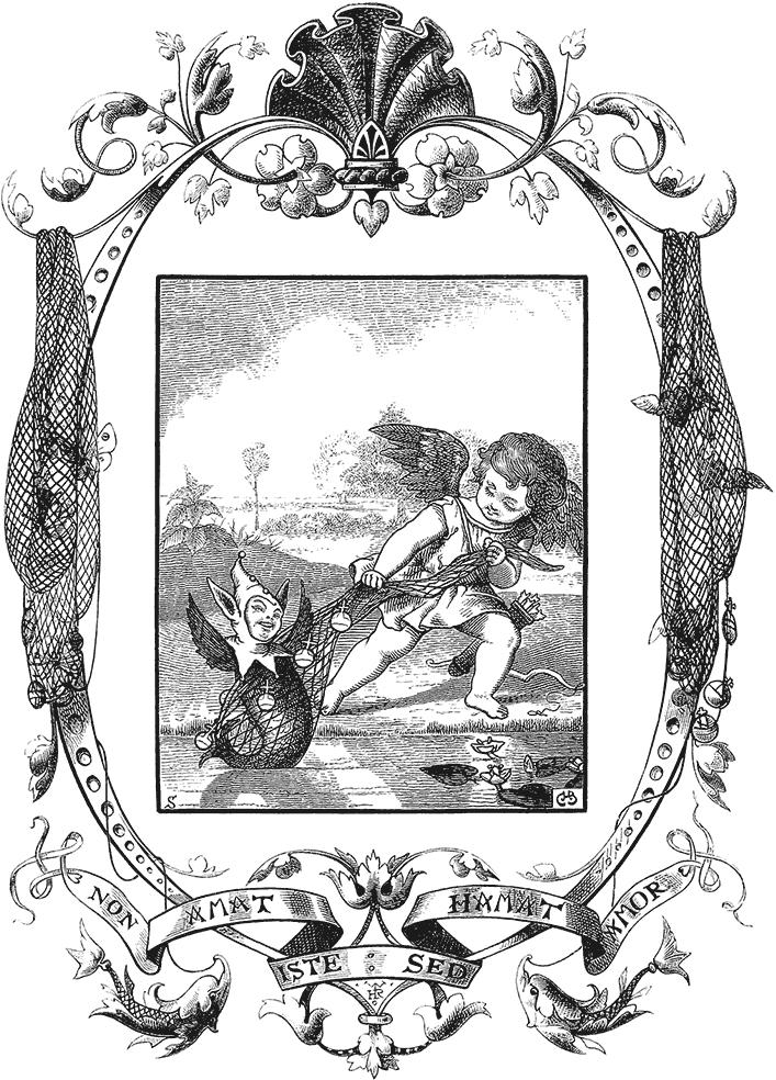 Anjo carregando um elfo